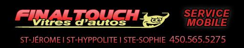 Final Touch Vitres d'auto