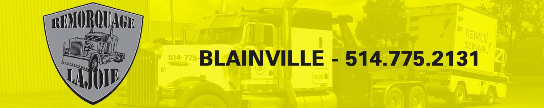 Remorquage Lajoie - Remorque de véhicule lourd Blainville