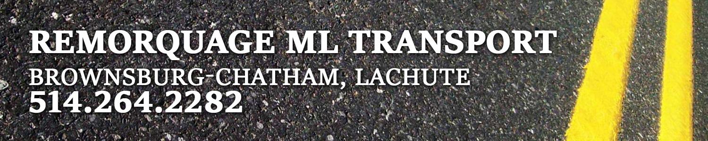 Remorquage ML Transport - Remorquage Lachute